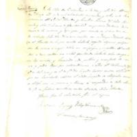 Cuadernillo de acuerdos del Ayuntamiento de Cutanda (hojas sueltas)